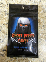 Ghost Pepper Candy - Blue Raspberry