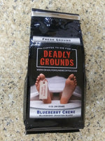 Deadly Grounds Coffee - Blueberry Creme