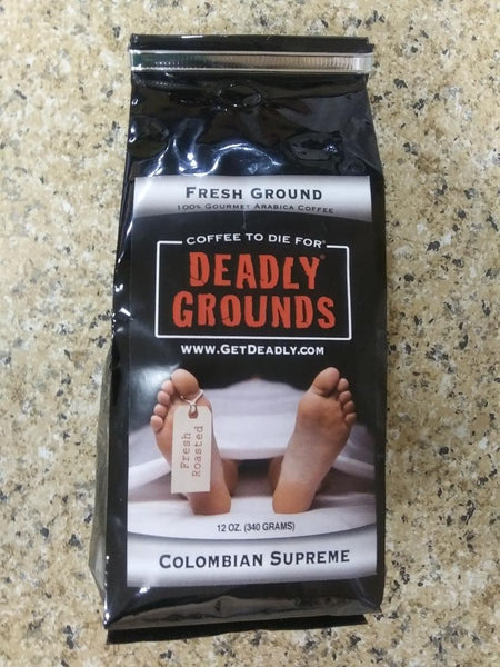 Deadly Grounds Coffee - Colombian Supreme