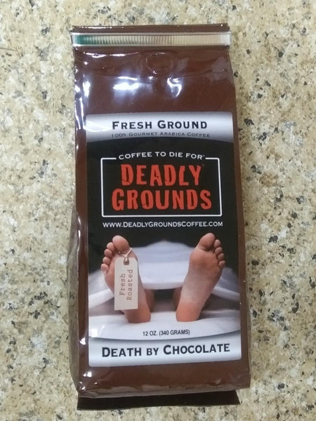 Deadly Grounds Coffee - Death By Chocolate
