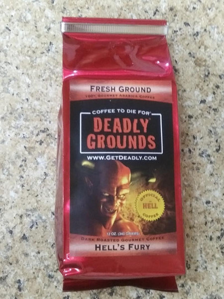 Deadly Grounds Coffee - Hell's Fury