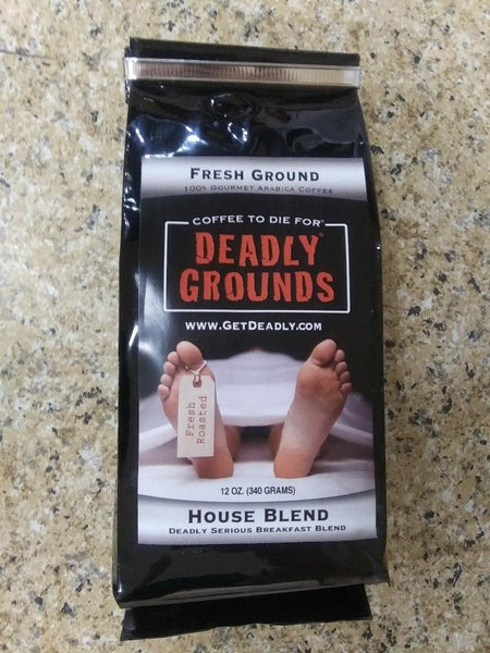 Deadly Grounds Coffee - House Blend