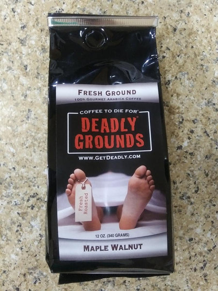 Deadly Grounds Coffee - Maple Walnut