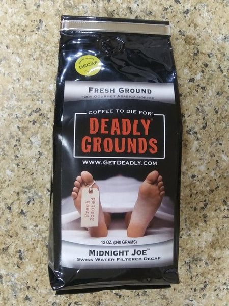Deadly Grounds Coffee - Midnight Joe (Decaf)
