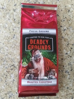 Deadly Grounds Coffee - Roasted Christmas
