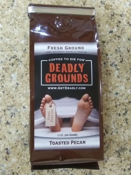 Deadly Grounds Coffee - Toasted Pecan