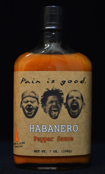 Most Wanted Pain is Good Habanero Hot Sauce