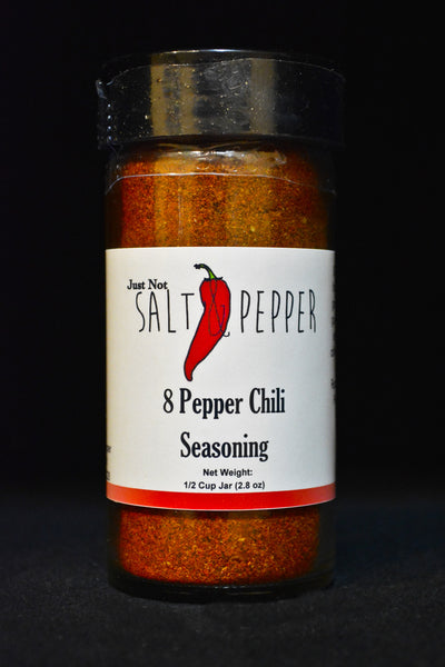 Just Not Salt & Pepper - 8 Pepper Chili Seasoning