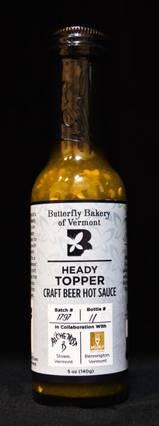 Butterfly Bakery of Vermont - Heady Topper Hot Sauce