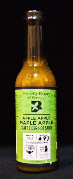 Butterfly Bakery of Vermont - Apple Apple Maple Apple Hot Sauce