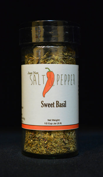 Just Not Salt & Pepper - Basil ( Sweet )