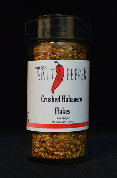 Just Not Salt & Pepper - Crushed Habanero Flakes