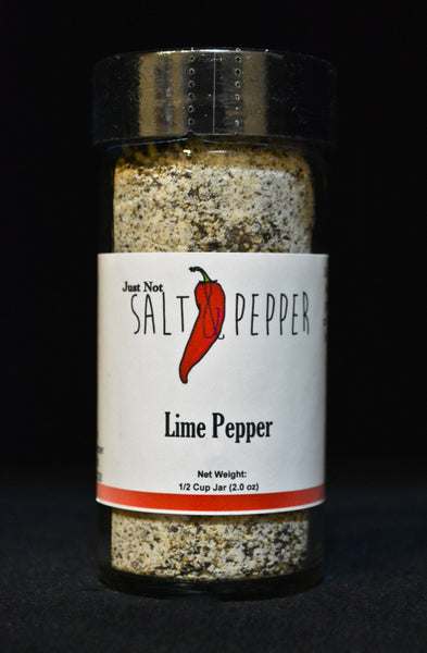 Just Not Salt & Pepper - Lime Pepper