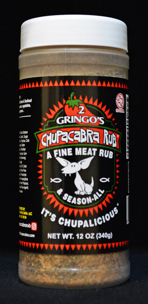 2 Gringos Chupacabra - Meat Rub & Season-All