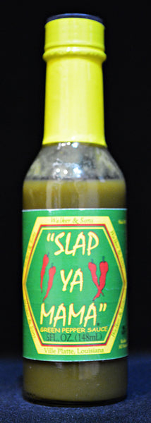 """ Slap Ya Mama "" Green Pepper Sauce"