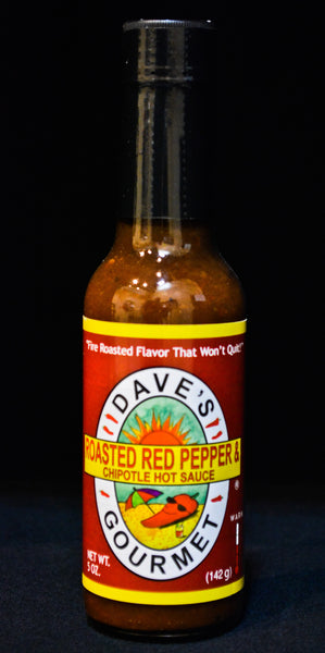 Dave's Gourmet - Roasted Red Pepper & Chipotle Hot Sauce