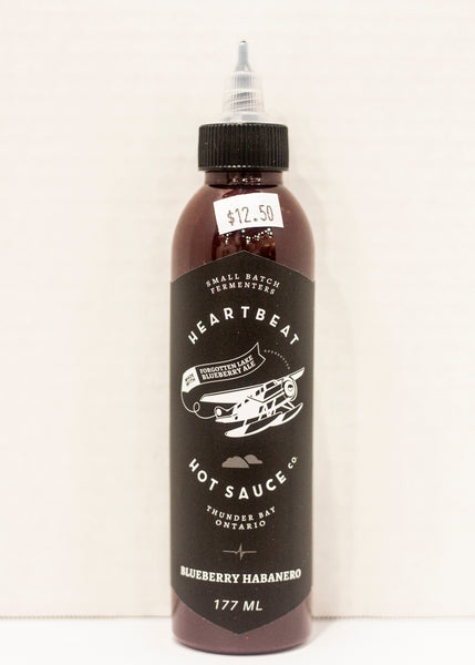 Heartbeat Hot Sauce Co. Blueberry & Habanero Hot Sauce