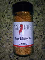 Just Not Salt & Pepper - Honey Habanero Rub