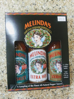 Melinda's Original Habanero 3 Pepper Sauces Gift Pack