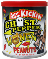 Ass Kickin' Ghost Pepper Honey Peanuts