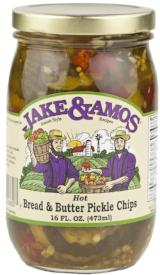 Jake & Amos Hot Bread & Butter Pickle Chips