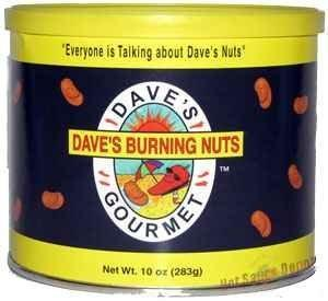 Dave's Gourmet Dave's Burning Nuts