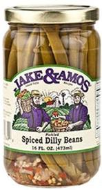 Jake & Amos Pickled Spiced Dilly Beans