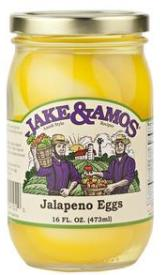 Jake & Amos Pickled Jalapeno Eggs