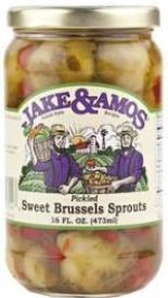 Jake & Amos Pickled Sweet Brussels Sprouts