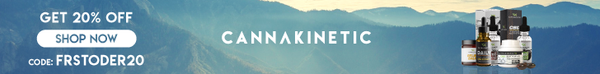 Cannakinetic 20% ad banner