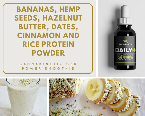 Intense Workout High-Protein CBD Smoothie