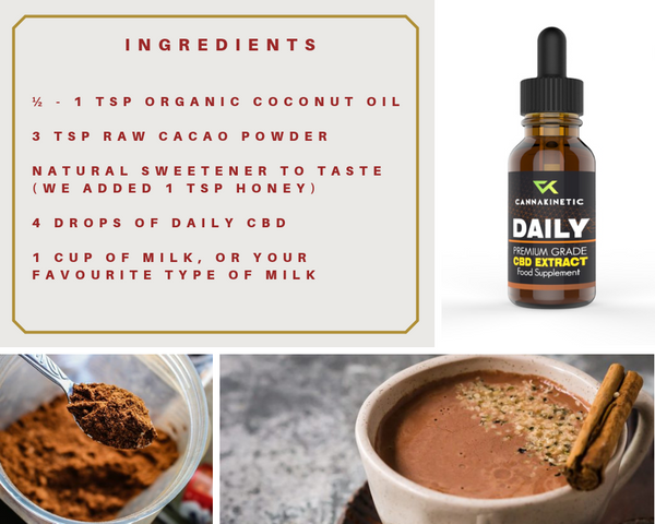 Calming CBD hot chocolate