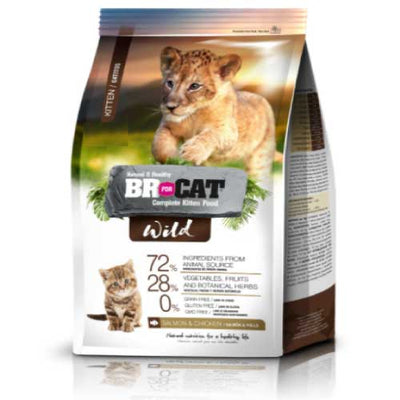 BR FOR CAT WILD KITTEN x 1 Kg