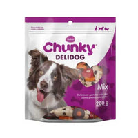 Snacks Chunky Delidog Mix Para Perros x 280 grs
