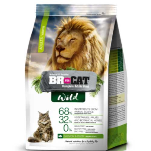 BR FOR CAT WILD ADULTO X 1 KG
