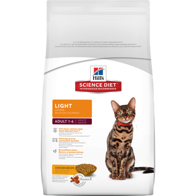Hills Feline Adult Light 4 lbs