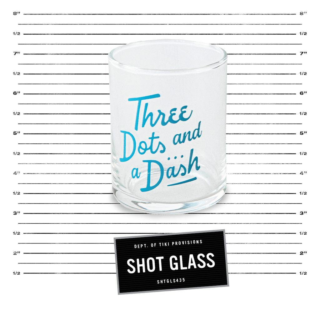 Shot Glass - Blue