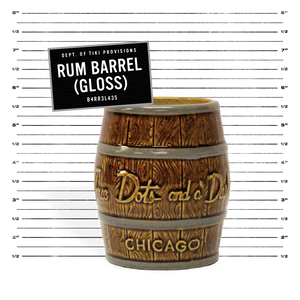 Rum Barrel - Gloss