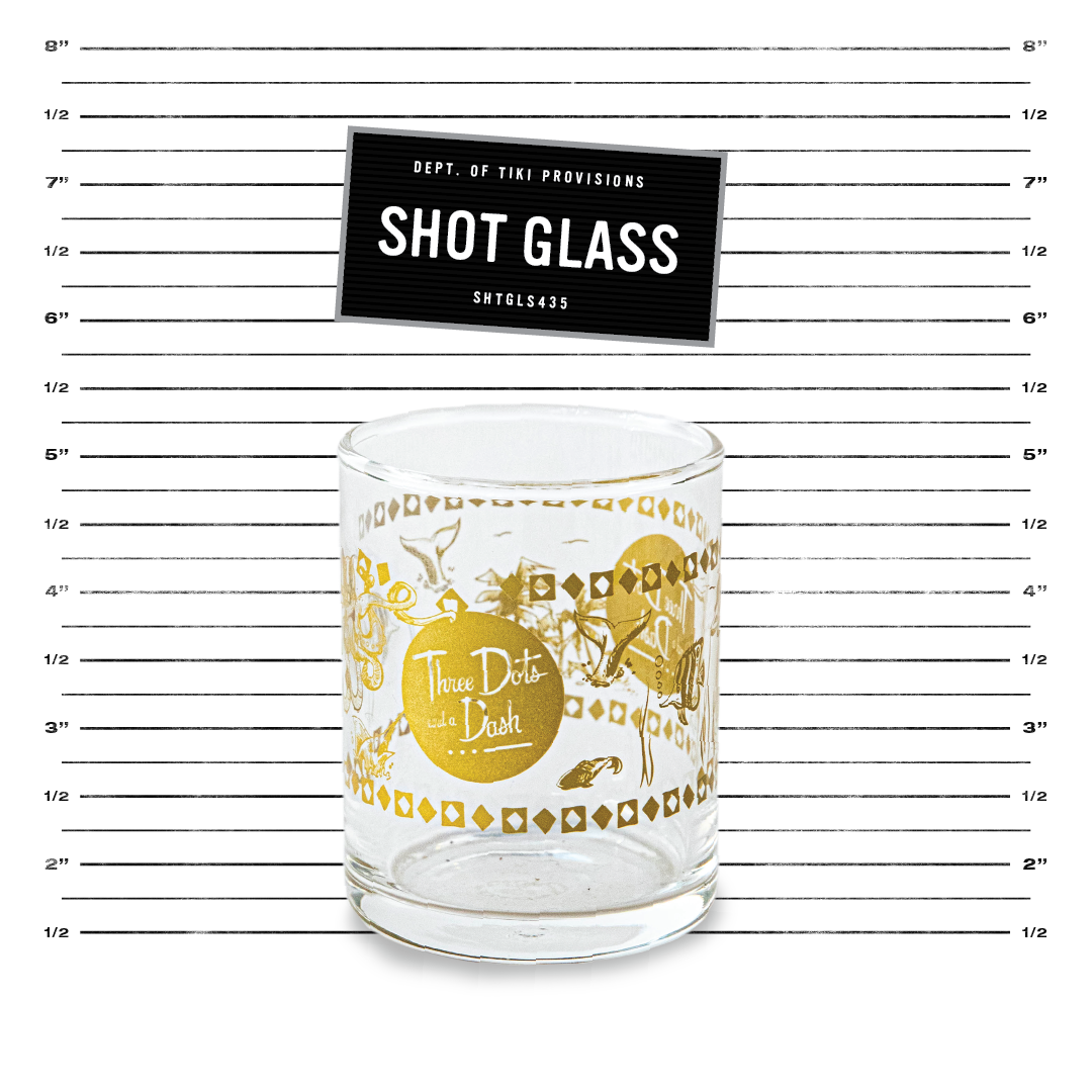 Shot Glass - Gold