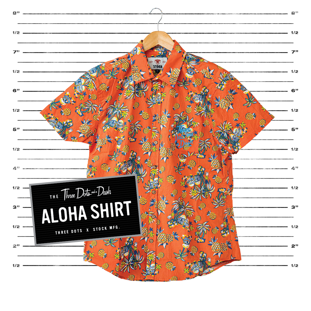 Aloha Shirt - Orange