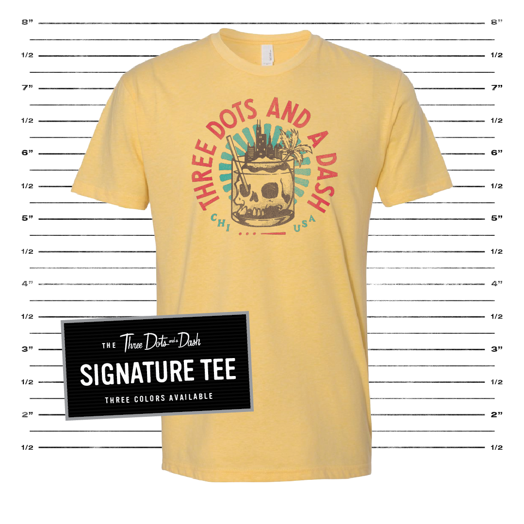Signature Tee - Yellow