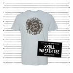 Wreath Tee - Blue