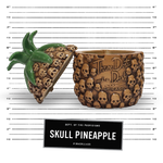 Skull Pineapple - Brown