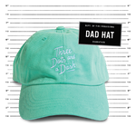 Dad Hat - Teal
