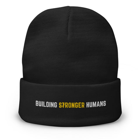 Building Stronger Humans Beanie