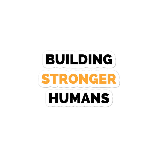 Building Stronger Humans Stacked