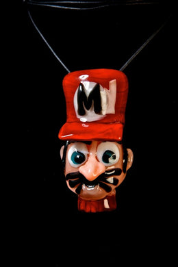 Lisa's pieces Mario Pendant