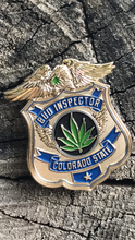 """Colorado State Bud Inspector"" numbered Hat pin"
