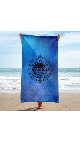 Blue Dream Beach Towel
