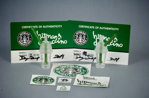 Original with Certificate Hitman Glass Dabuccino